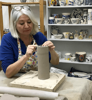 Handcrafted and painted ceramics from Southsea Mudlark