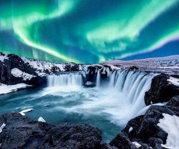 auroras boreales en Islandia en septiembre