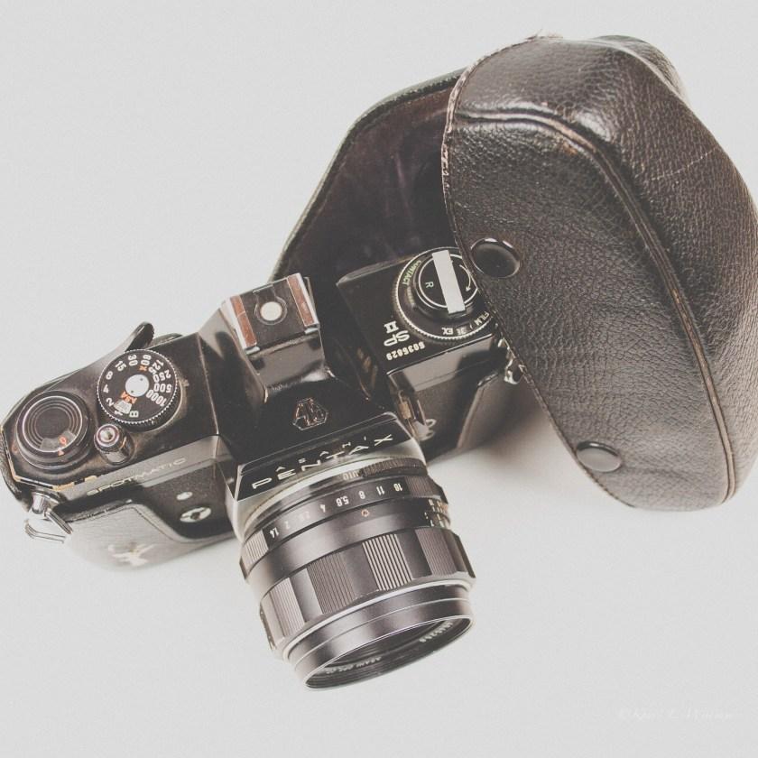 Asahi Pentax Spotmatix SP II, Camera, Old Things, Memories