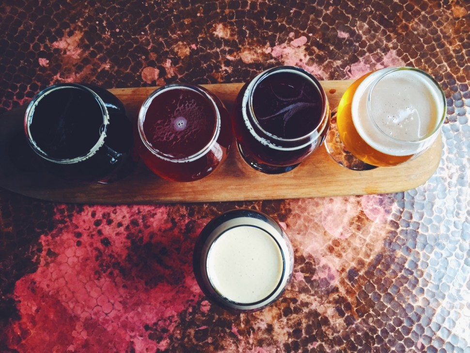 beer, flight