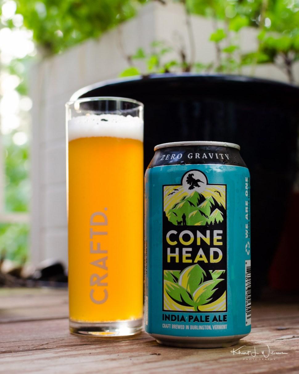 beer, ales, glass, can, craftd, zero gravity, cone head