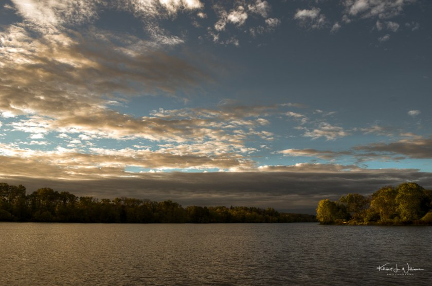 Carnegie Lake, water, clouds, sky, lake