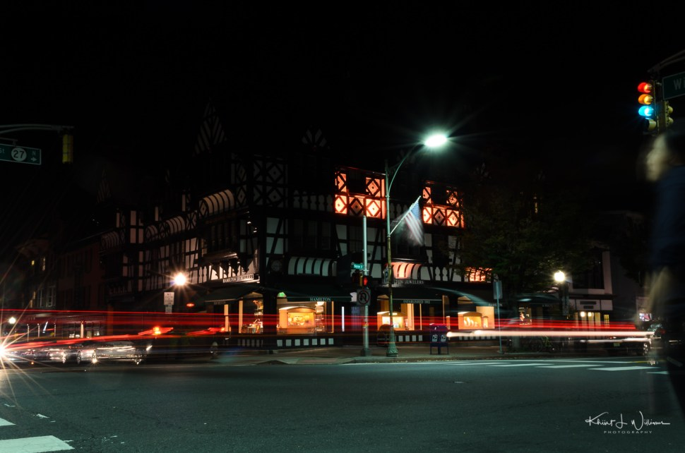 layered, night photography