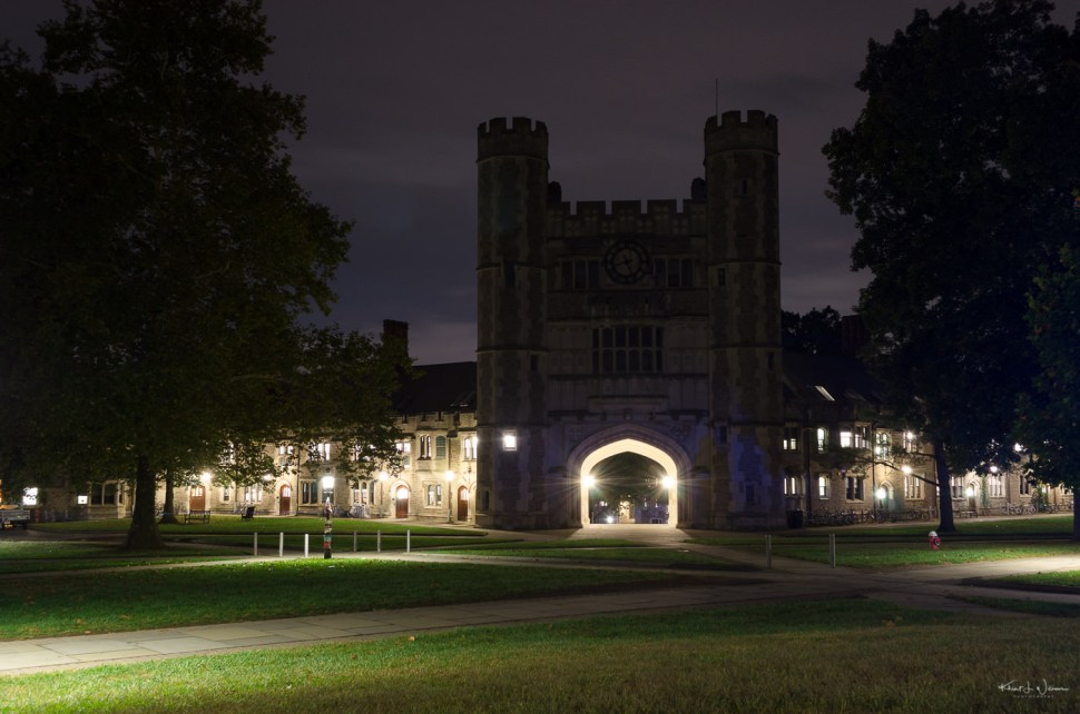 Hour, Blair Hall, Princeton University