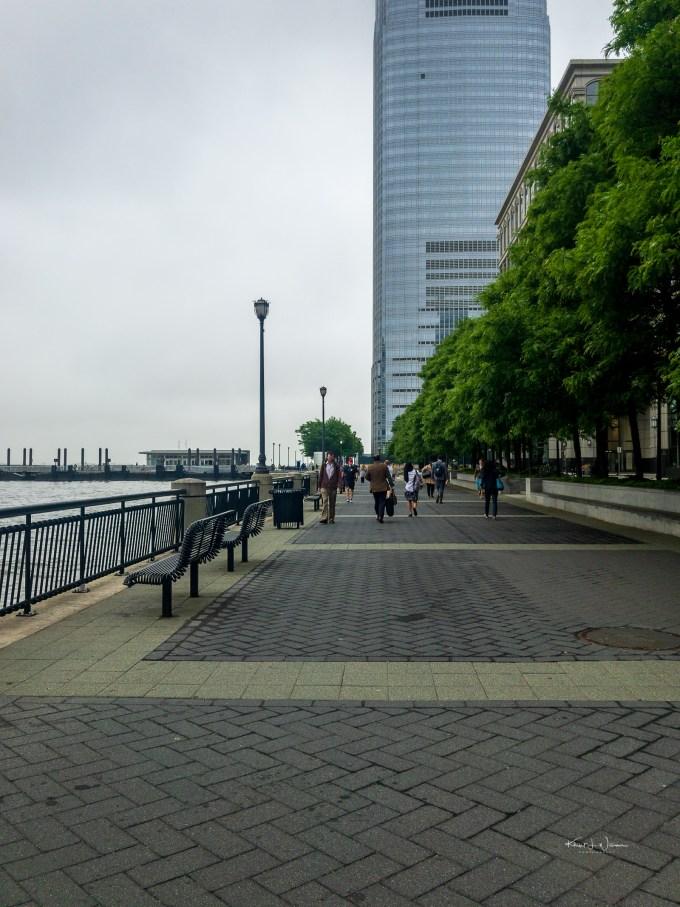 Paulus Hook Park, Jersey City, New Jersey