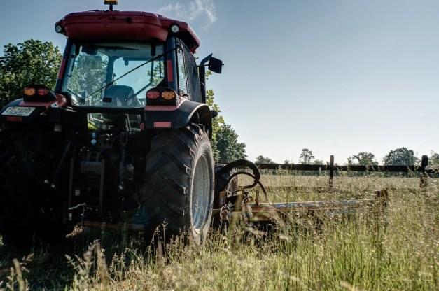 Hopewell Township, Hopwell, Mercer County, St. Michaels Farm Preserve, Tractor | FujiFilm X-T2 | Fujinon XF16-55mmF2.8 R LM WR