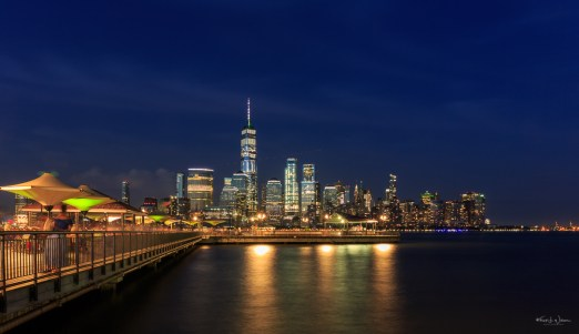 Jul 28, 2018, View of lower Manhattan from J. Owen Grundy Park in Jersey City — Canon EOS 5D Mark III + EF24-70mm f/4L IS USM