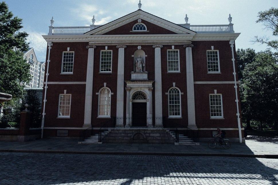 Street, Building, Colonial, Brick