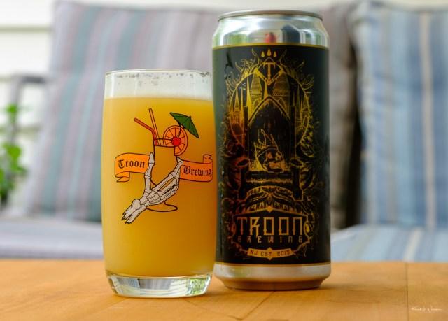 Troon Brewing, Beer, Craft Ale, Glass, Crowler