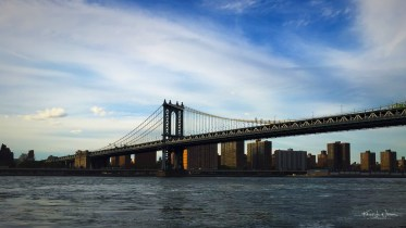 Manhattan Bridge, New York City | Apple iPhone 6 + iPhone 6 back camera 4.15mm f/2.2 | ISO 32