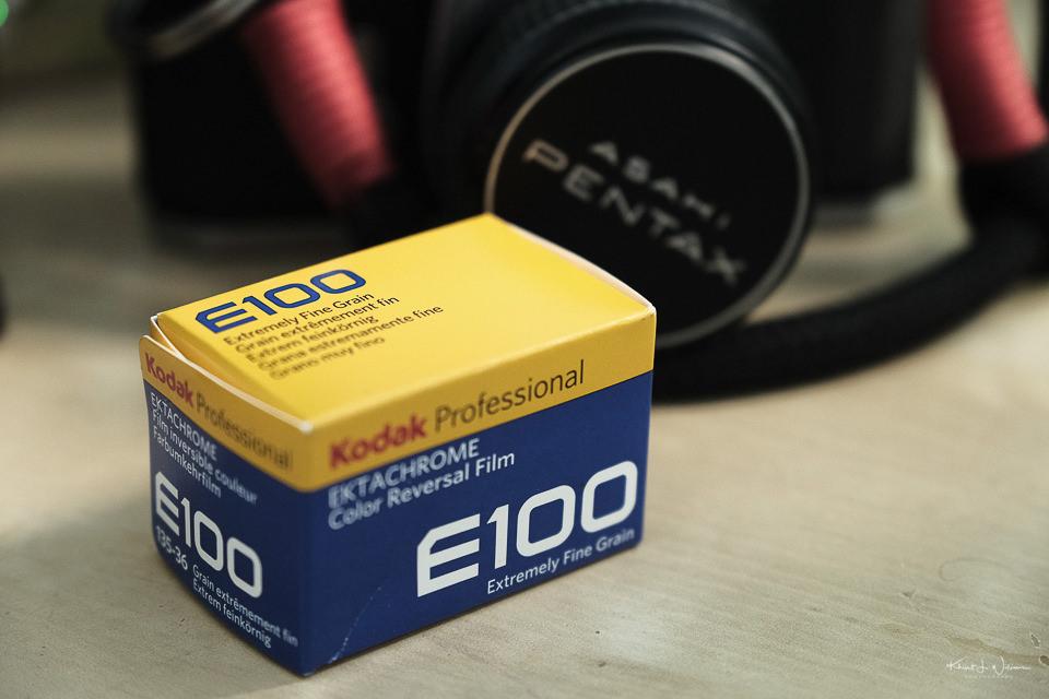 roll of Kodak Ektachrome E100