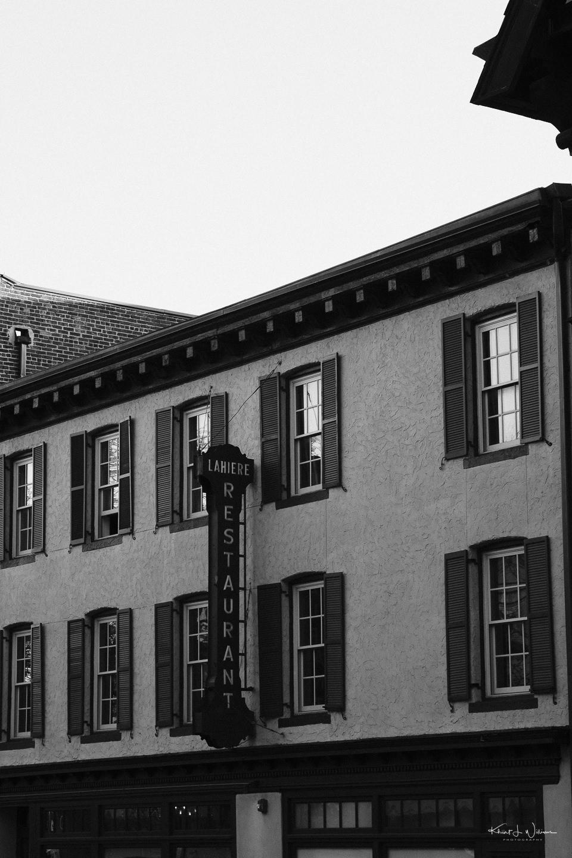 Store Facade, Restaurant, Lahierre Restaurant, Witherspoon Street, Princeton
