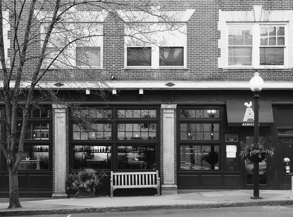 Store Front, Agricola Eatery, Witherspoon St, Princeton