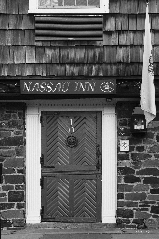 Door, Nassau Inn, Palmer Square, Princeton