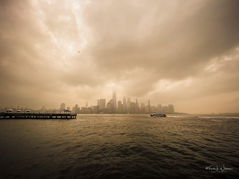 New York City, Paulus Hook, Jersey City, Clouds, City