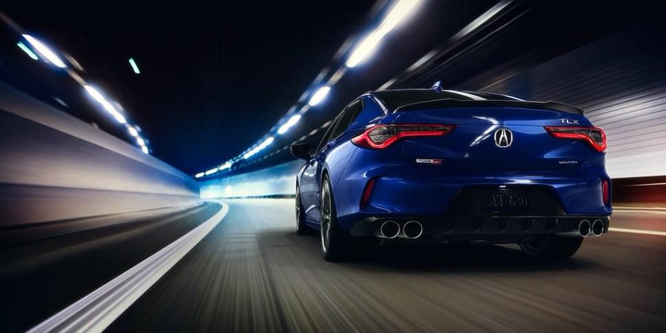 2021 Acura TLX Type S Exterior Blue