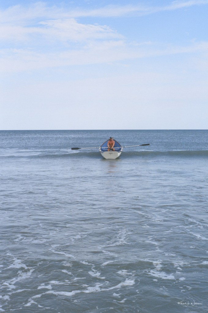Life Boat Coming in on Avalon Beach