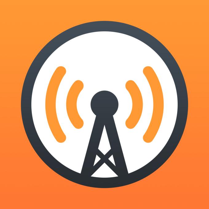 app icon for overcast.fm