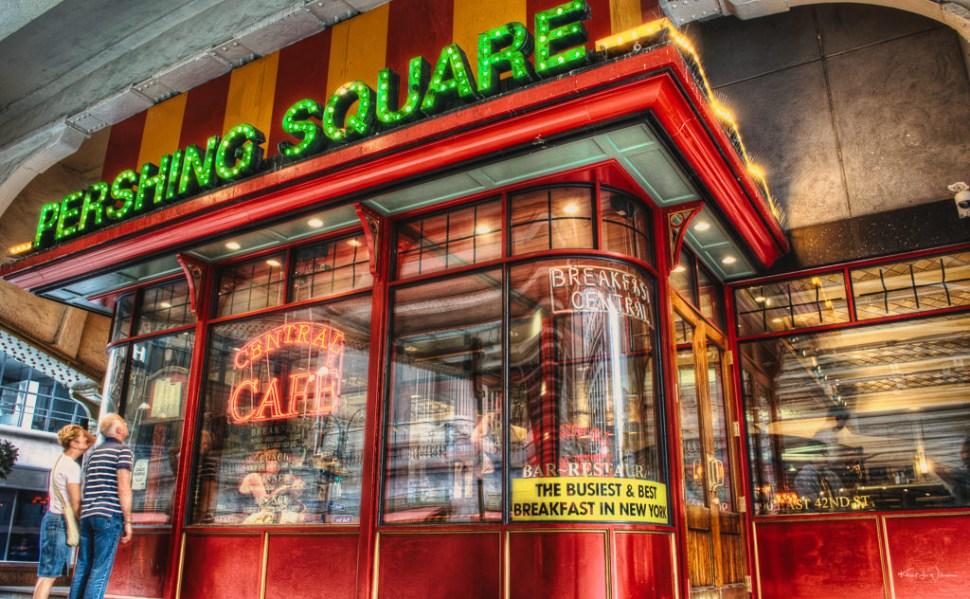 Pershing Square Cafe, Manhattan, New York City