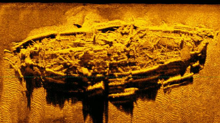 Civil War-era shipwreck found off North Carolina coast