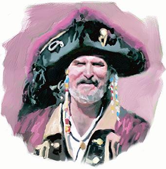 Pirates of the Carolinas Blackbeard The Pirate Benjamin Hornigold