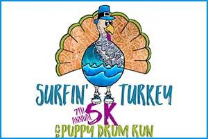 Surfin' Turkey 5K & Puppy Drum Run