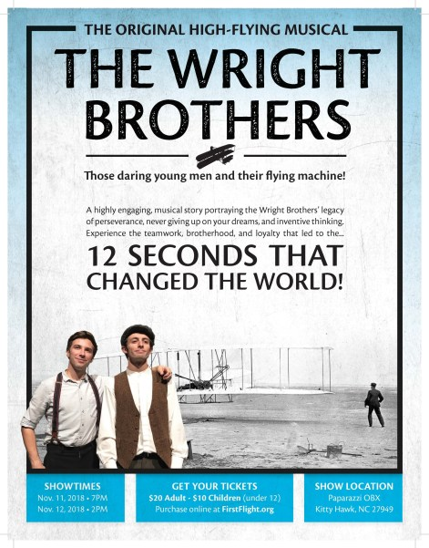 Wright Brothers Original High Flying Musical