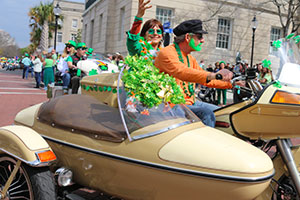St. Patrick's Day Parade and Festival: March 16th
