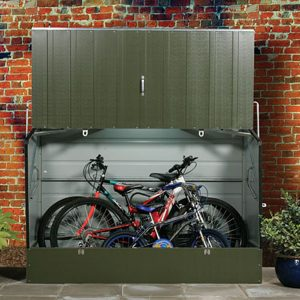 Outdoor Bicycle Storage Unit