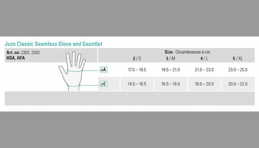 Juzo Classic Seamless Glove - Island Medical (Mauritius) Ltd