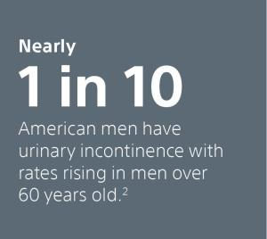 male incontinence commack