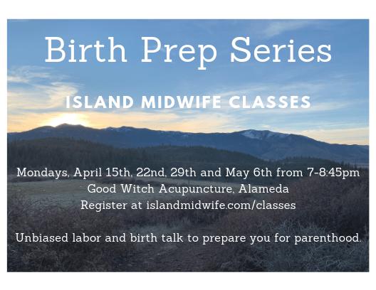 Childbirth class, childbirth preparation, Alameda classes