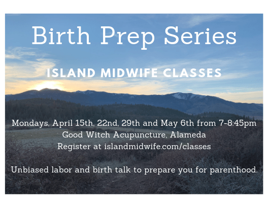 Childbirth class, childbirth preparation, Alameda classes