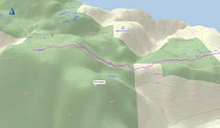 Mount Becher GPS route and Map