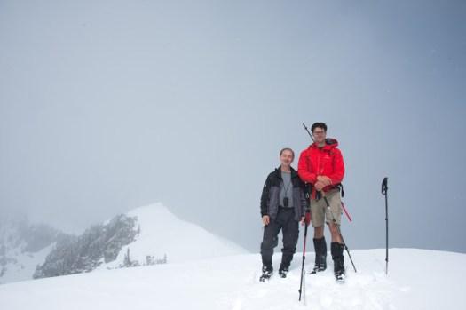 Mount Kokummi in the Sutton Range, Vancouver Island