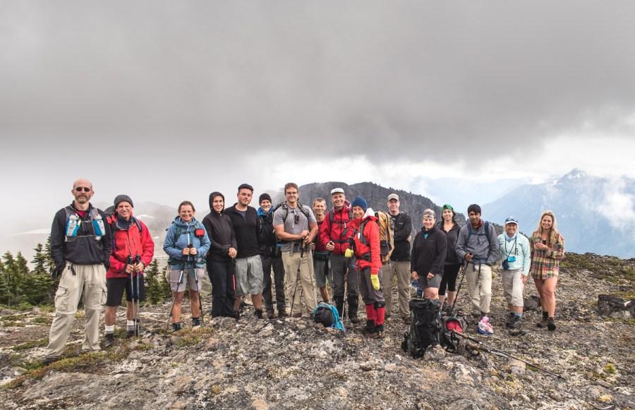 Rodgers Ridge summit shot