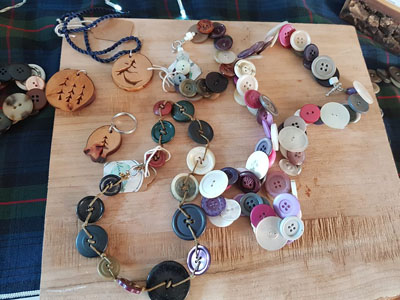 assorted necklaces made on Vancouver Island by Island Reveries
