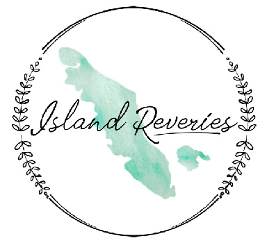 Island Reveries logo - beeswax wraps and other reveries on Vancouver Island