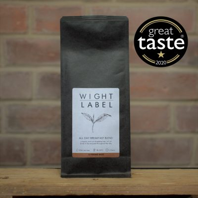 Wight Label Tea All Day Breakfast Blend - Great Taste Awards 2020 Gold Star award