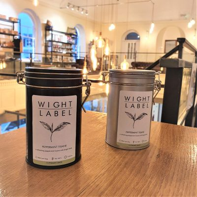 Wight Label Tea - Filled Tea Caddy - Peppermint Tisane