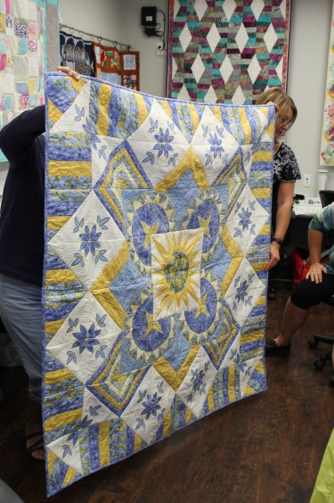 Barb's finished quilt