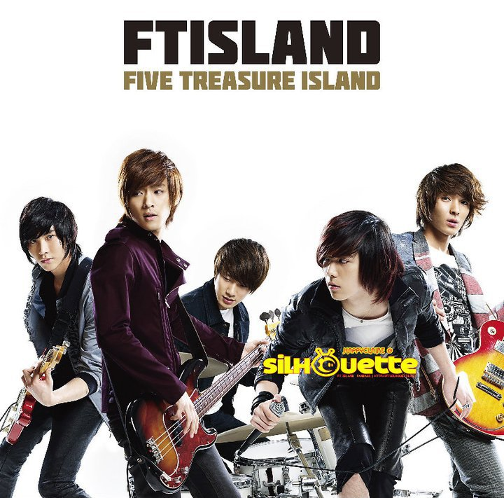 [PICS] FT Island 1st Major Album *updated*   Five Treasures Boys in Absolute Island (Indonesia)