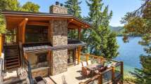 Horne Lake Timber Frame Project Listed Island