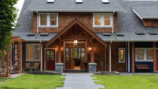 Contemporary Farmhouse Timber Frame