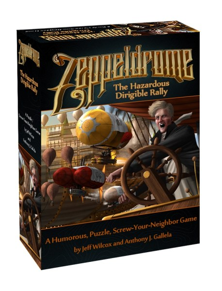 Zeppeldrom box art