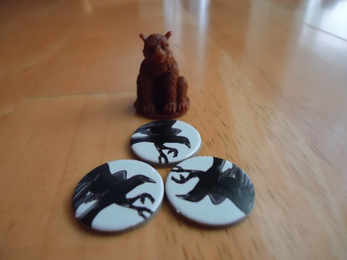Bear and crow tokens