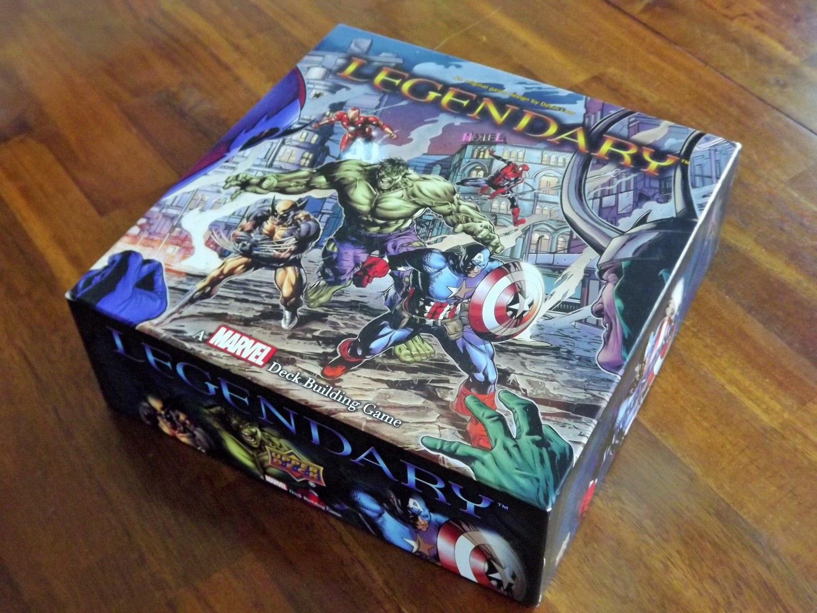 Deck Building Heroes Realms Tric Trac