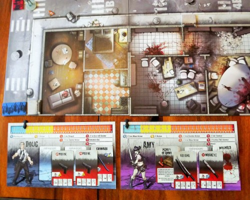 Zombicide Character Layout