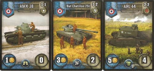Pick your poison?  From left to right: light, medium, and heavy tanks.