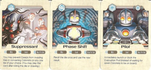 "Various ability cards come in handy - one will remain with you the entire game as your ""core"" ability."